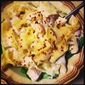 Skinny Chicken Alfredo with Spinach