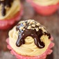 Peanut Butter Cupcakes with Chocolate Ganache