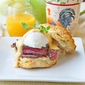 Steak and Eggs Benedict with Brown Butter Sriracha Hollandaise Sauce