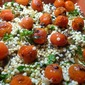 Ottolenghi...Couscous With Grilled Cherry Tomatoes And Fresh Herbs