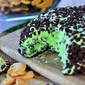 Mint Chocolate Chip Cheese Ball