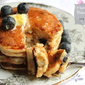 Yogurt Blueberry Pancake Soufflé – Low Calorie