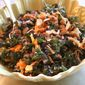 Gelson's Kale, Carrot and Almond Salad