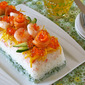 How to Make Sushi Cake - Video Recipe