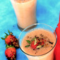 Warm Spiced Tea Strawberry-Banana Smoothie