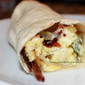 Pepper, Egg, Bacon Provolone Wrap