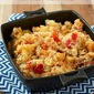 Slow cooker mac and cheese with bacon and tomatoes