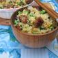 Sausage & Peas Fried Rice - 香肠豌豆炒饭
