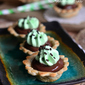 Mini Chocolate Mint Cream Pies