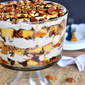 Turtle Cheesecake Trifle + $50 VISA Gift Card Giveaway!