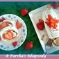 Eggless Strawberry Swiss Roll Cake - Biskuitroulade