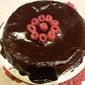 Chocolate Cake with Fudgy Glaze – flourless (GF)