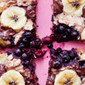 Blueberry Banana Chocolate Oat Cake Cookie – Vegan & Gluten-Free – Baked Oatmeal