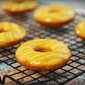 Caramel Cornbread Doughnuts with Chocolate Chips