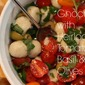 Gnocchi with Heirloom Tomatoes, Basil and Olives