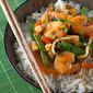 Secret Recipe Club: Thai Red Curry Shrimp with Vegetables