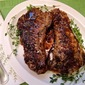 Pepper-Grilled Strip Steaks with Port Wine Sauce
