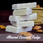 Almond Coconut Fudge Recipe| Snack Recipes