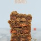 Above the Rim Peanut Butter Cup Blondies Recipe