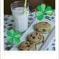 Irish Soda Bread Chocolate Chip Sandwich Cookies