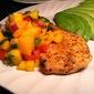 Kick'N Chicken with Mango Salsa