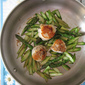 Pan-Seared Scallops & Steamed Asparagus - 香煎鲜贝蒸芦笋