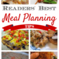 Readers' Best Meal Planning Tips