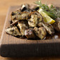Cedar Plank Roasted Wild Mushrooms