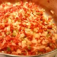 Pork, Corn and Three-Pepper Soup
