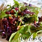 Beet & Goat Cheese Salad with a Blood Orange Vinaigrette