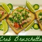 Crab Bruschetta and Gulf Coast Seafood: Top Seafood Blog