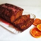 Glazed Blood Orange and Brown Sugar Buttermilk Pound Cake