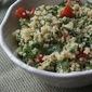 Lemon Tahini Dill Quinoa Salad