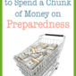 Using Extra Funds to Become More Prepared