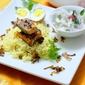 Salmon Pulao Rice