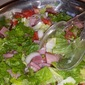 Easy Weeknight Ham and Pea Salad