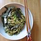 Soy Sauce-Green Onions-Vinegar Soba Buckwheat Noodles 凉拌荞麦面
