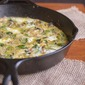 Brussels Sprouts, Bacon and Goat Cheese Frittata