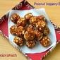Peanut Jaggery Balls / Kadalai Urundai