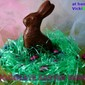Homemade Chocolate Easter Bunny