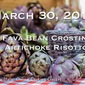 LIVE from ITALY Online Cooking Class: Artichoke Risotto & Fava Crostini