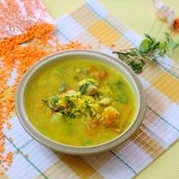 Dhal Yogurt Soup
