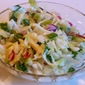 Tangy and a little bit Sweet Balsamic Coleslaw ~ GO CARDS!!!