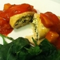 Chicken Stuffed with Feta Spinach and Basil