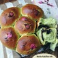 [KitchenAid Dough Recipe] Matcha Azuki Bun with Salted Cherry Blossom