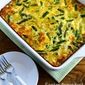Easter Breakfast Casserole with Asparagus and Artichoke Hearts (Low-Carb, Gluten-Free)