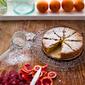 ALMOND CAKE WITH BLOOD ORANGE + CARDAMOM