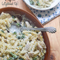 Chicken Broccoli Alfredo (Lightened Up)
