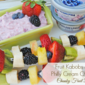 Fruit Kabobs with a Philly Cream Cheese Chunky Fruit Dip #SpreadtheFlavor