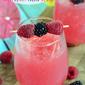 Raspberry Acai Slush